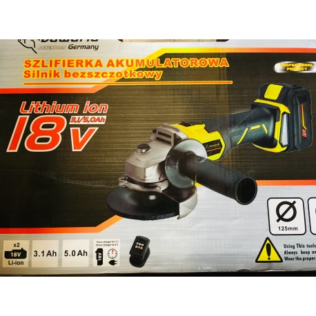 18v brushless šlifuoklis BAVARIA
