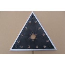 Gipso glaisto šlifuoklių trikampis padas