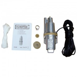 Vibracinis vandens siurbliukas EUROTEK 550w