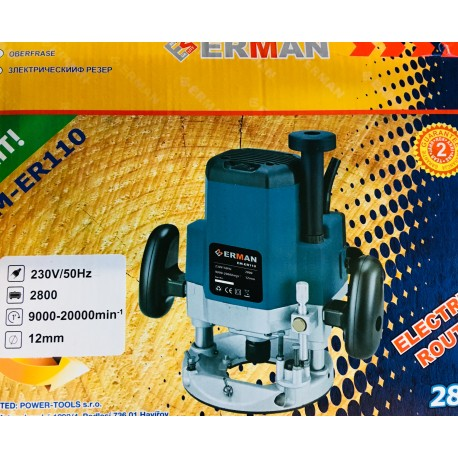 Frezeris ERMAN 2800w 12mm